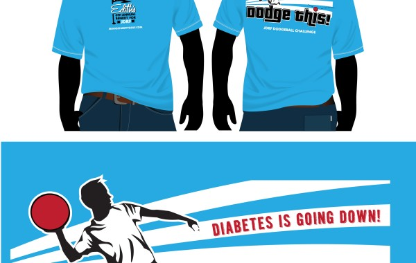Edith's Charity Dodgeball Tee