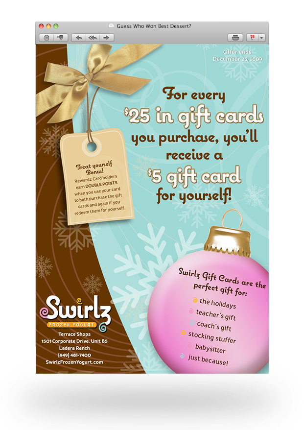 Email-Swirlz Holiday
