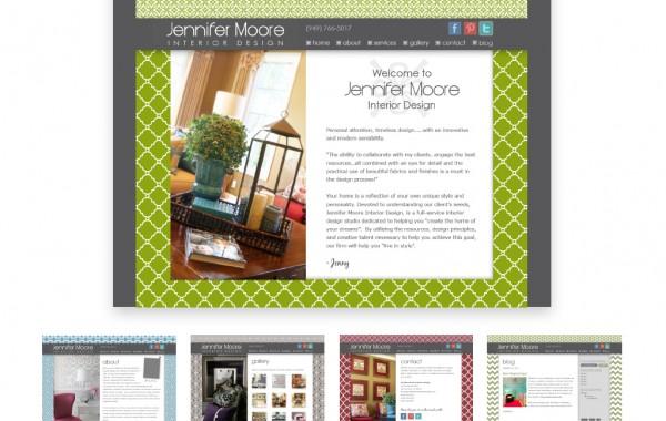 Jenny Moore Website Portfolio