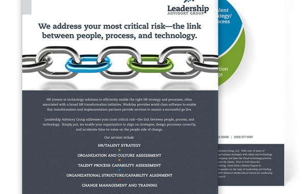 Leadership Flyer Mockup