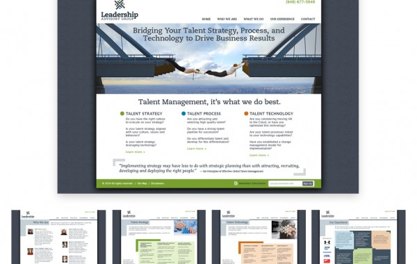 Leadership Website Portfolio