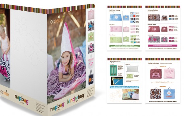 OC Daisy Catalog Design