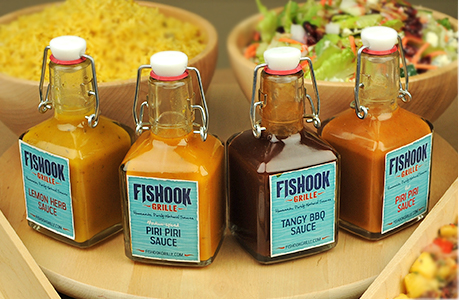 Fishook Sauce Labels
