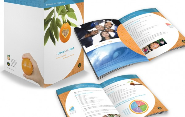 Orange County Social Services Brochure/Folder