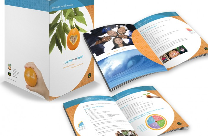 Orange County Social Services Brochure/Folder