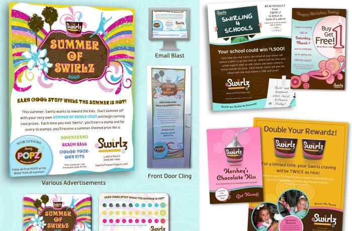 Swirlz Campaign Collage