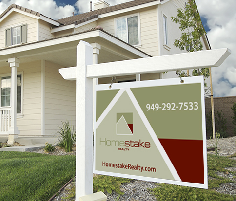 Homestake Realty Sign