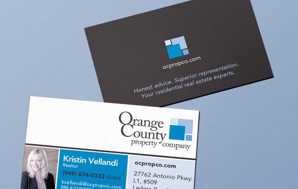 OC Prop. Co. Business Card
