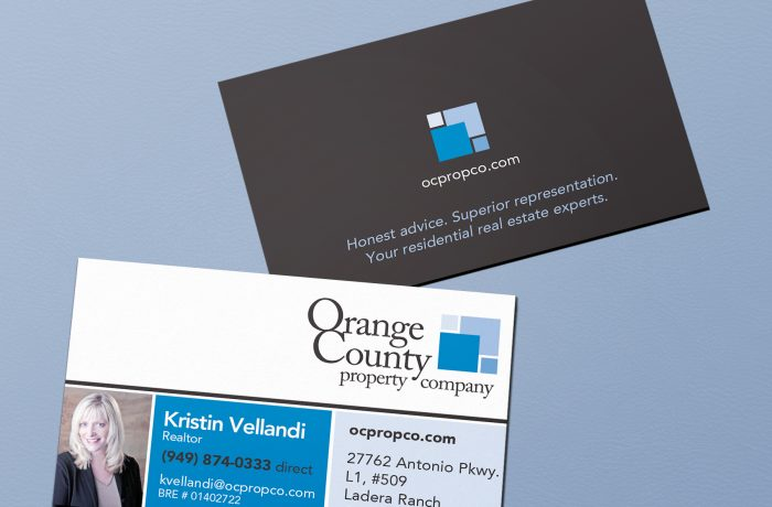 OC Prop. Co. Business Card