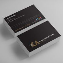 Christian Anthony Media Logo Design & Business Card