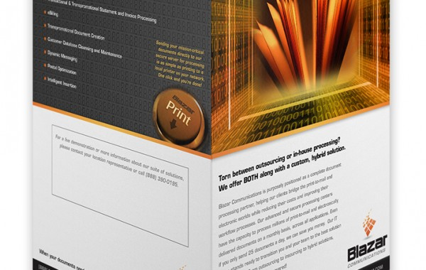 Blazar Brochure Design