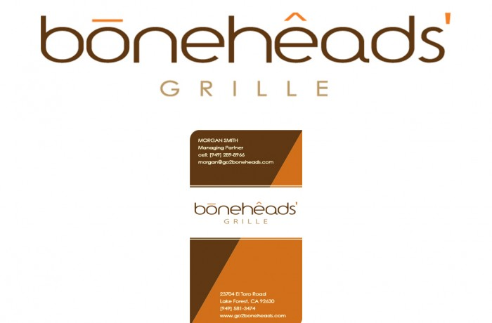 Boneheads branding