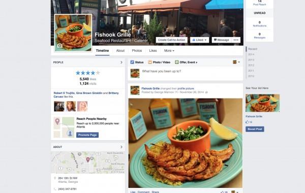 Fishook Facebook Page