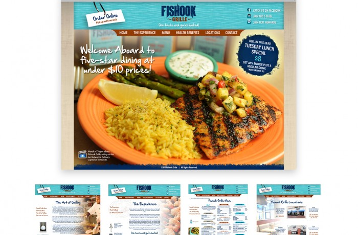 Fishook Website Portfolio