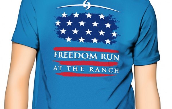 Freedom Run Shirt Design