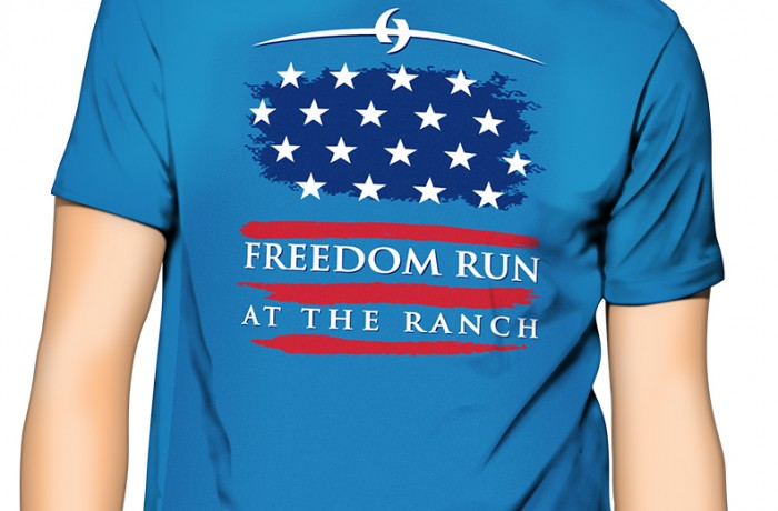Freedom Run Shirt Design