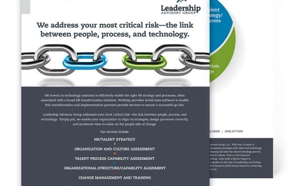 Leadership Flyer Mockup