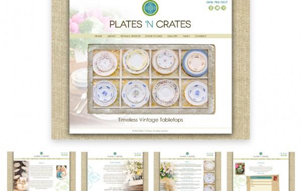 Plates Website Portfolio