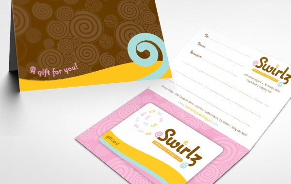Swirlz Gift Card Package