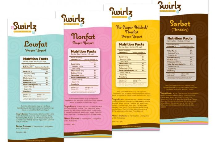 Swirlz Nutrition Cards