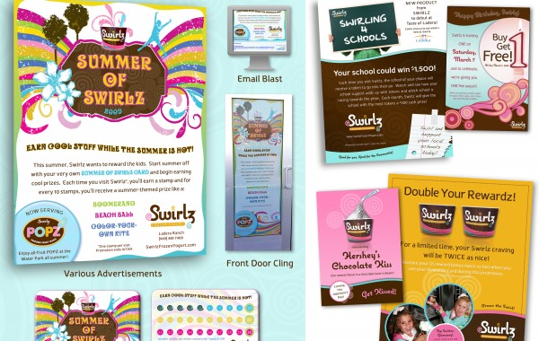 Swirlz Campaign Collage