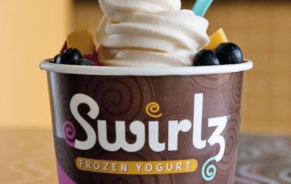 Swirlz Yogurt Cup Design